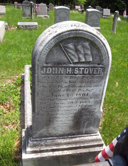 19- stover grave