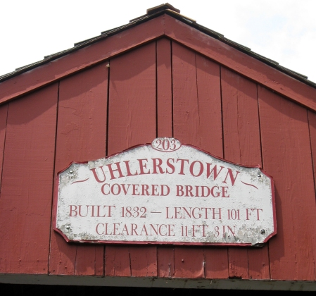 uhlerstown sign